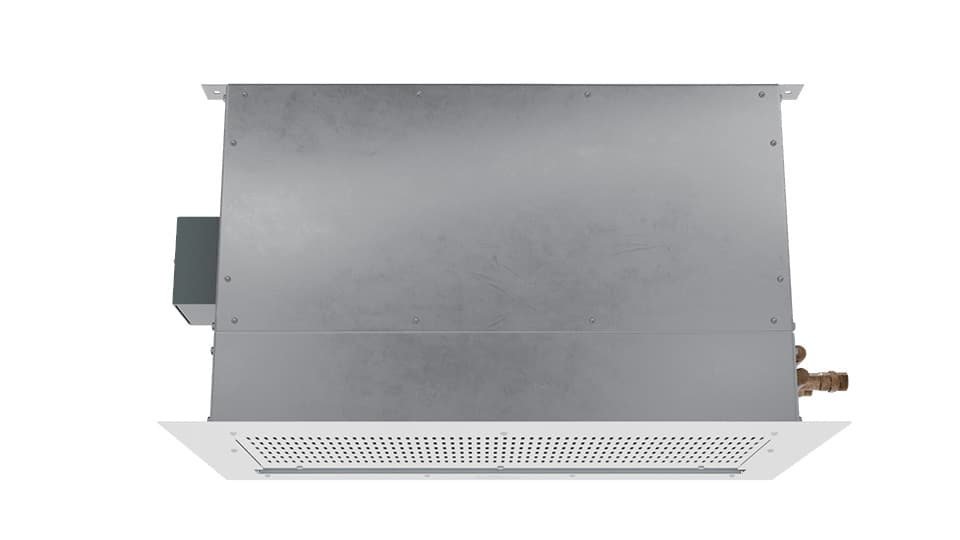 "360 View | CLD-3-120HW | Air Curtain | 120"" Chameleon Light Duty (CLD) Hot Water Heated"
