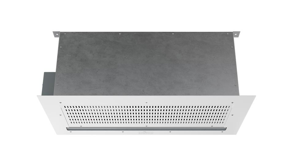 360 View | ECC - ECo Motor™ (ECC) Unheated Air Curtains