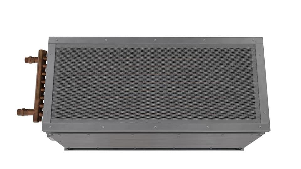 360 View | EHD-HW - Extra High Door (EHD-HW) Hot Water Heated Air Curtains