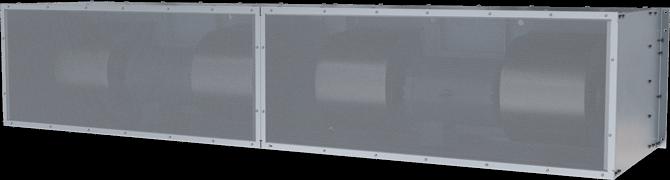 BPA - Big Powered Aire (BPA) Unheated Air Curtains