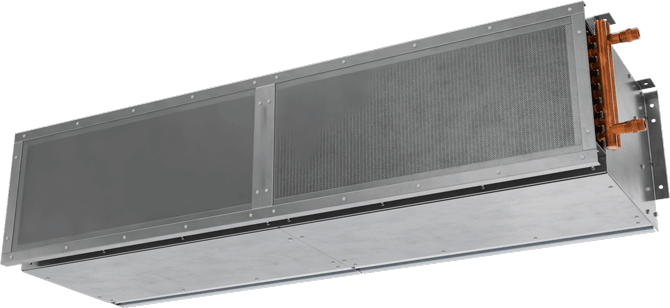 CHS-ST - Customer Entrance Door (CHS-ST) Steam Heated Air Curtains