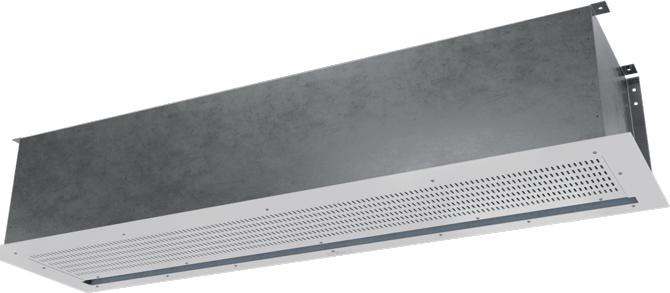CLD-E - Chameleon Light Duty (CLD-E) Above Ceiling Electrically Heated Air Curtains