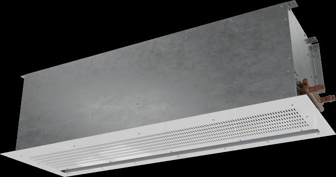 ECC-ST - ECo Motor™ (ECC-ST) Steam Heated Air Curtains