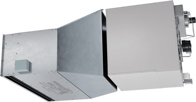 EHD-IG - Extra High Door (EHD-IG) Indirect Gas Heated Air Curtains