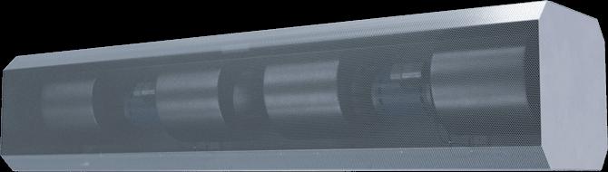 ETA-E - Exposed Vestibule Exception (ETA-E) Electrically Heated Air Curtains