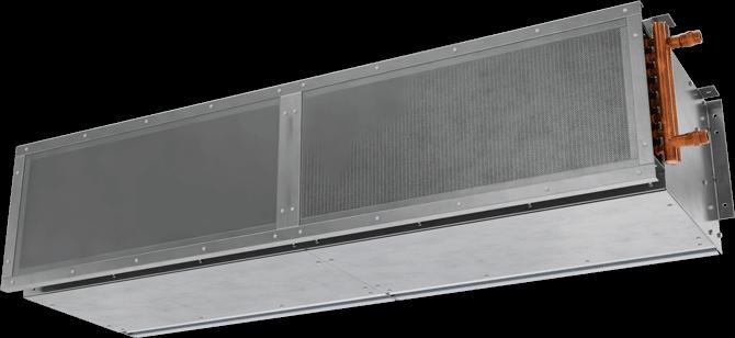 ETA-HW - Exposed Vestibule Exception (ETA-HW) Hot Water Heated Air Curtains