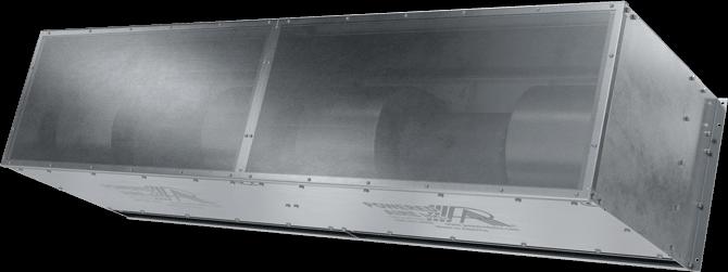 HDC - Heavy-Duty Corrosive Area (HDC) Unheated Air Curtains