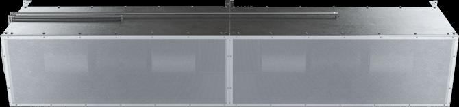 HDX - Heavy-Duty Hazardous Area (HDX) Unheated Air Curtains
