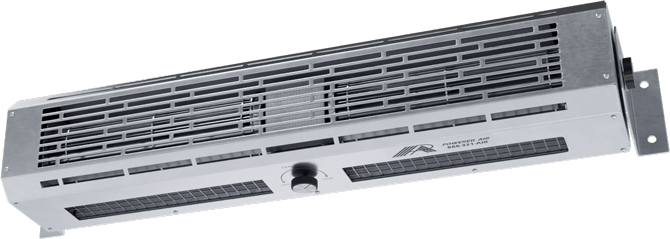 PTW - Pass Thru Window Unheated Air Curtains
