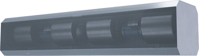 RBT - ETL Sanitation Certified (RBT) Unheated Air Curtains