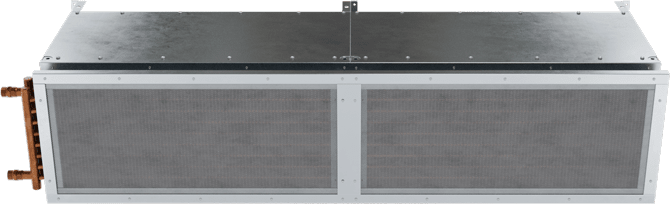 TFD-HW - Ten-Fourteen Door (TFD-HW) Hot Water Heated Air Curtains