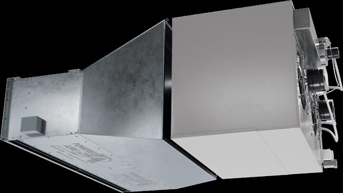 TFD-IG - Ten-Fourteen Door (TFD-IG) Indirect Gas Heated Air Curtains
