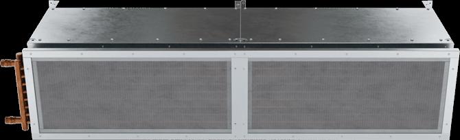 TFD-ST - Ten-Fourteen Door (TFD-ST) Steam Heated Air Curtains