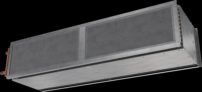 TSD-HW - Twelve-Seventeen Door (TSD-HW) Hot Water Heated Air Curtains
