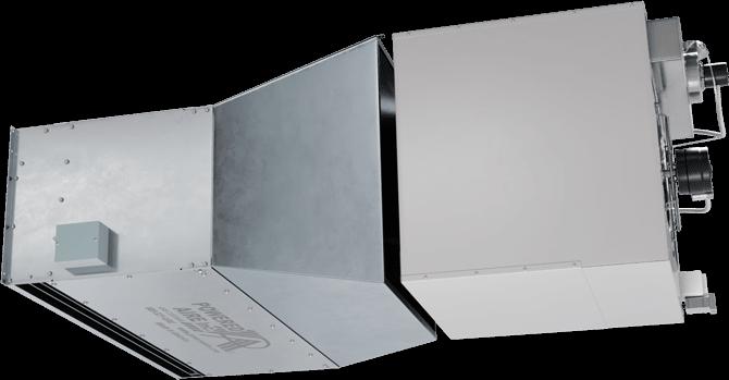 TSD-IG - Twelve-Seventeen Door (TSD-IG) Indirect Gas Heated Air Curtains