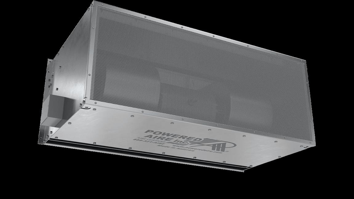 Full Size View 1 | BPA - Big Powered Aire (BPA) Unheated Air Curtains