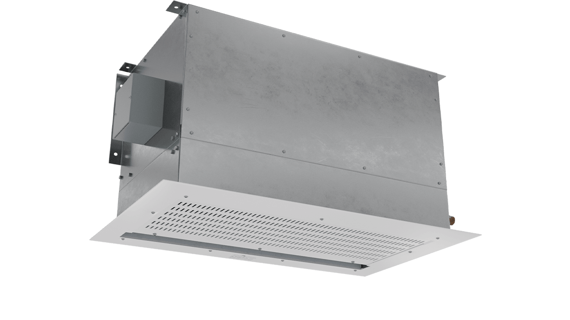 Full Size View 1   CHA-HW - Chameleon Vestibule Exception (CHA-HW) Above Ceiling Hot Water Heated Air Curtains