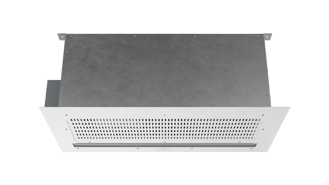 Full Size View 1   CLD-E - Chameleon Light Duty (CLD-E) Above Ceiling Electrically Heated Air Curtains