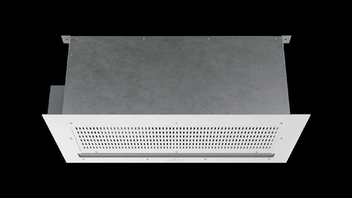Full Size View 1 | ECC-E - ECo Motor™ (ECC-E) Electrically Heated Air Curtains