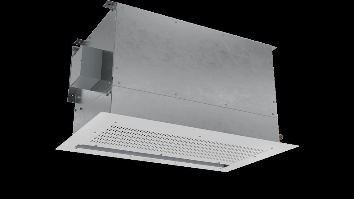 Full Size View 1 | ECC-ST - ECo Motor™ (ECC-ST) Steam Heated Air Curtains
