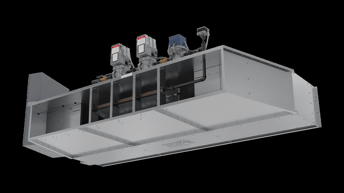 Full Size View 1   EHD-DG - Extra High Door (EHD-DG) Direct Gas Heated Air Curtains