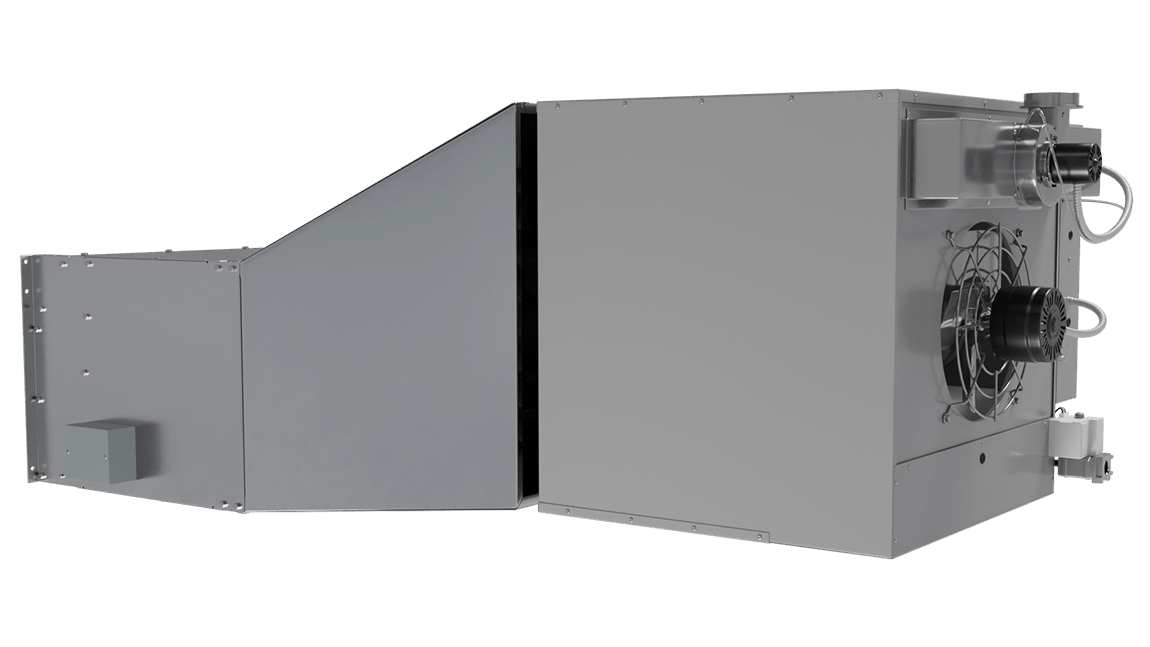 Full Size View 1 | EHD-IG - Extra High Door (EHD-IG) Indirect Gas Heated Air Curtains