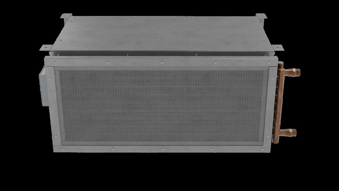 Full Size View 1 | ETA-HW - Exposed Vestibule Exception (ETA-HW) Hot Water Heated Air Curtains