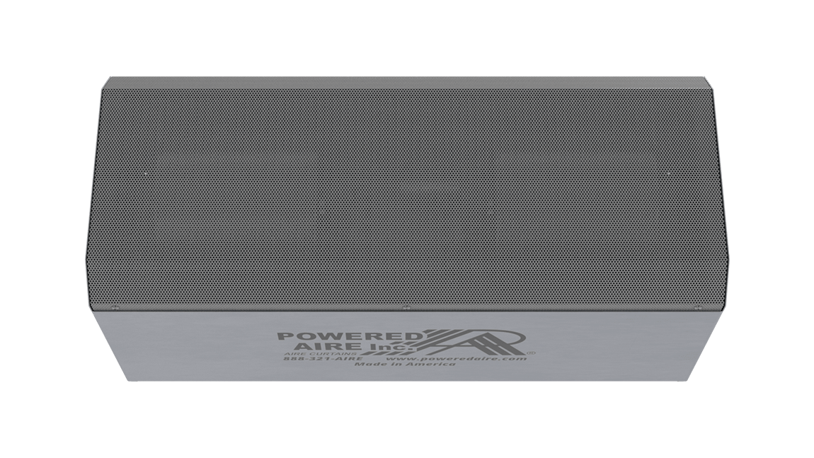 Full Size View 1 | FAC-E - Freezer Aire™ (FAC-E) Electrically Heated Air Curtains