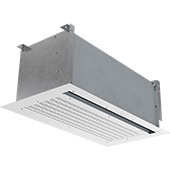 Thumbnail View 1   CHA-E - Chameleon Vestibule Exception (CHA-E) In-Ceiling Electrically Heated Air Curtains