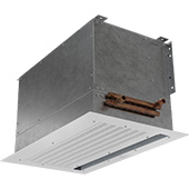 Thumbnail View 3 | CHA-HW - Chameleon Vestibule Exception (CHA-HW) Above Ceiling Hot Water Heated Air Curtains
