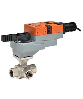 Belimo three-way hot water valve